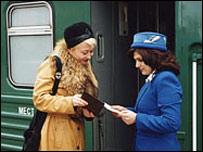 Идет посадка на поезд (Фото сайта РЖД)