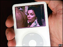 Desperate Housewives on an iPod