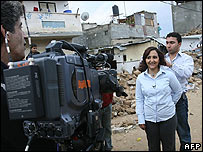 Al-Jazeera's correspondent in Gaza