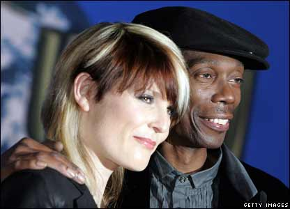 Maxi Jazz and Sister Bliss from the band Faithless