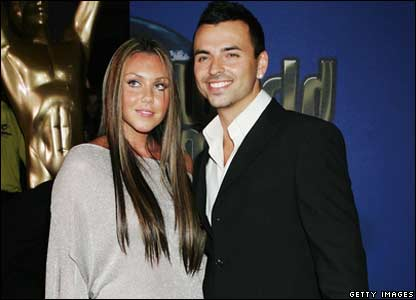 Michelle Heaton and Andy Scott-Lee