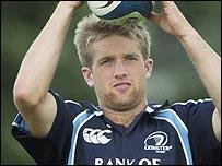Leinster's Luke Fitzgerald