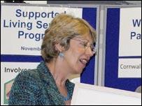 Patricia Hewitt visits Cornwall Partnership NHS Trust