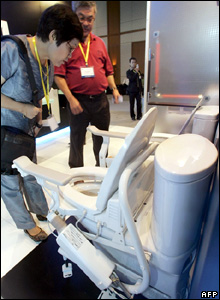 High-tech toilet at Bangkok expo