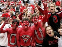 Ohio State University fans