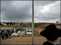 Funeral of Fatima Slutsker