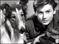Lassie and Roddy McDowell