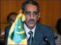 Mauritania's head of state, Colonel Mohmaed Ely Ould Vall