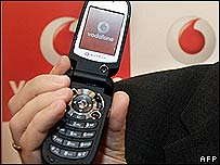 Vodafone 710 mobile handset