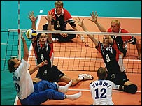 Sitting volleyball at the Olympics