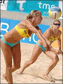 Denise Johns (left) is a bright hope for GB