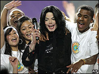 Michael Jackson at the World Music Awards