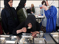 Women's shelter in Tehran