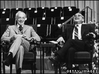 Saul Bellow and Milton Friedman