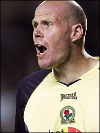 Blackburn goalkeeper Brad Friedel
