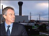 Tony Blair at Sellafield