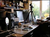 Jeremy's desk