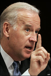 File picture of US Senator Joseph Biden