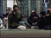 Homeless in Croydon