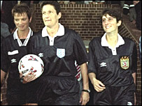 Janie Frampton, Wendy Toms and Amy Rayner