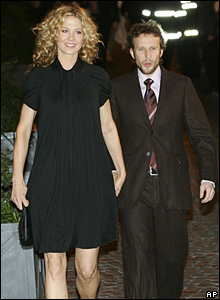 Jenna Elfman and her husband Bodhi Elfman