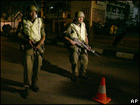 Fijian soldiers on the streets of the capital