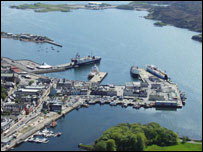 Stornoway harbour, Western Isles