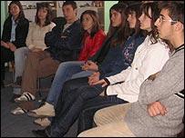 Albanian students