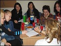 Serbian students
