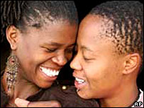 A lesbian couple from Soweto