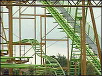 The Treetop Twister ride