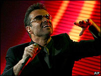 George Michael in Manchester