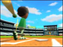 Baseball wii