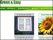 Green And Easy website