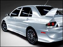 Mitsubishi Evolution VIII (фото с сайта mitsubishicars.com)