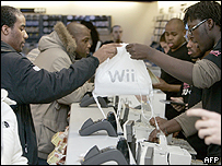 Wii launch