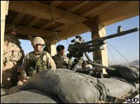 Soldiers from A Company, 2nd Princess Patricia's Canadian Light Infantry in Kandahar province