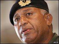 Cmdr Bainimarama (file image)