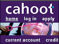 Cahoot website