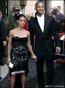 Jada Pinkett Smith and Will Smith  leave the Hassler Hotel for the wedding