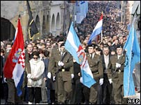 Commemorative ceremonies in Vukovar on 18 November 2006