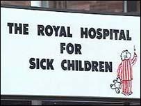 Edinburgh's sick children's hospital
