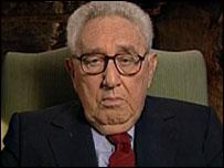 Dr Henry Kissinger