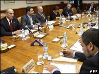 Israeli cabinet meeting on Sunday