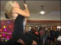 Pole dancing in Pocklington