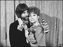 Jon Peters and actress Barbra Streisand
