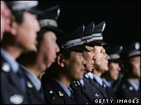 Chinese police - archive picture
