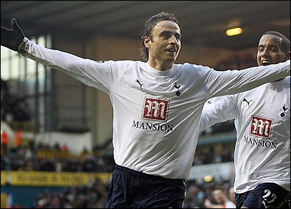 Dimitar Berbatov and Tom Huddlestone