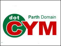 Logo ymgyrch dot.cym