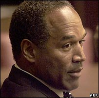 Former American football player and actor OJ Simpson (file photo 2001)